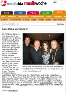 X Katie Melua startet durch 2004